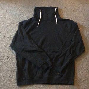 Ocean Current chimney collar sweatshirt
